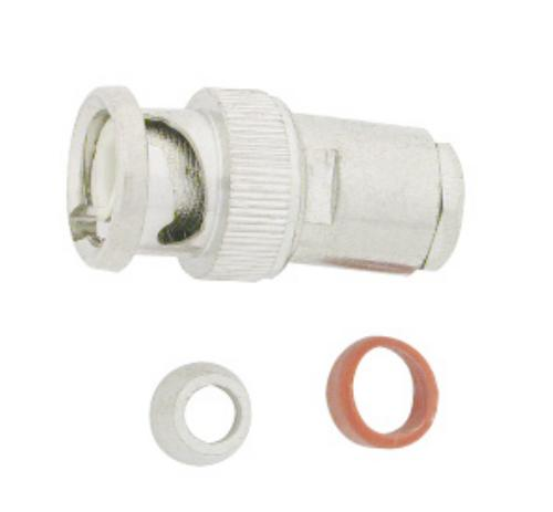 6 PC. BNC MALE CONNECTOR FOR R