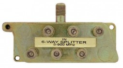 6 WAY SPLITTER (OFRECER AA336 POR ESTE MISO)