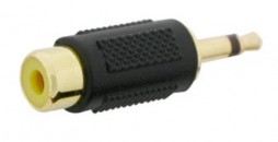 RCA TO 3.5MM ADAP. GOLD