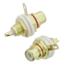 DLX RCA JACK GOLD PALTED FOR AG108