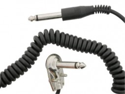 25Ft Coiled Guitar Cable