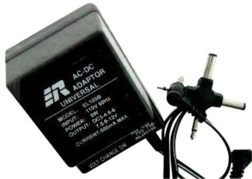 AC ADAPTOR 500MA BLISTER PACK