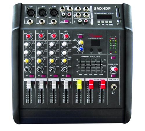 XSS PROFESSIONAL POWER MIXER 4 CH WITH USB-SD