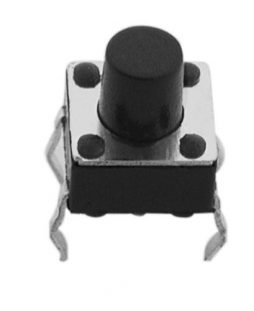MICROSWITCH 6X6MM HEIGHT OF BUTTON 7MM, 4LEGS