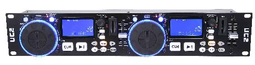 PROFESSIONAL DUAL USB/SD PLAYER W/DJ CONTROL