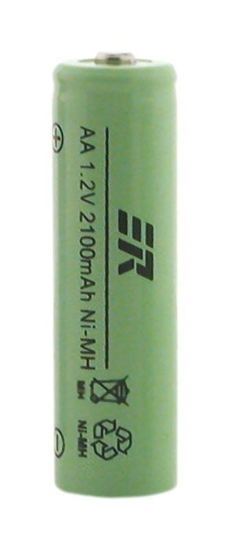 RECHAGEABLE NI -MH BATT AA2100 MAH (2 IN A BLISTER)