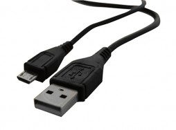 USB TO MICROUSB CABLE 3 FT