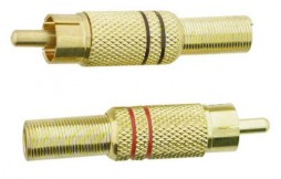RCA PLUG DELUXE GOLD