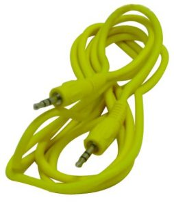 3.5 ST PLUG TO 3.5 ST PLUG 6FT YELLOW