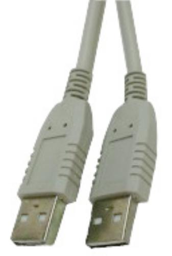 A-A USB CABLE 6' (MALES)