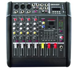 XSS PROFESSIONAL POWER MIXER 8CH WITH USB-SD