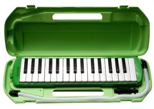 MELODICA (MOUTH KEYBOARD) GREEN