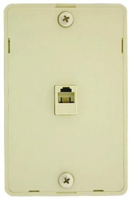 4C HANGING WALL PLATE WHITE