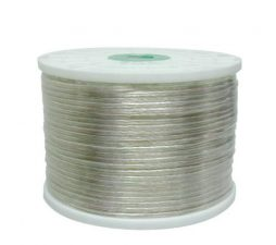 16x2 SPEAKER WIRE CLEAR INSULATION 1000ft.