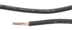 MIC. CABLE MONO 100 MTS DARK BLUE