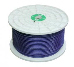 8 GA PRIMARY WIRE  CLEAR BK 500 FT