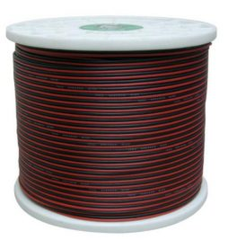 14G BLK/RED SPEAKER WIRE