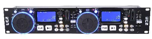 PROFESSIONAL DUAL USB/SD PLAYER W/DJ CONTROL