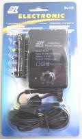 AC/DC ADAPTOR 1200ma WITH USB 90-240 Vca.