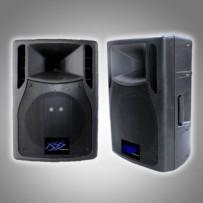 "8"" PLASTIC ACTIVE SPEAKER CABINET MP3/USB/ 1000 W P.M.P.O"